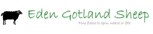 Eden Gotland Sheep Logo