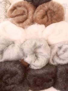 Carded Gotland Wool