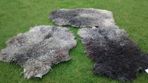 felted fleece rugs 100% wool